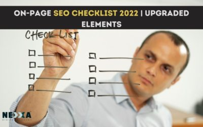 On-page SEO checklist 2022 |upgraded elements